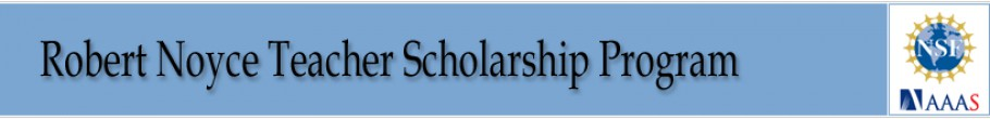 The Robert Noyce Scholarship Program: